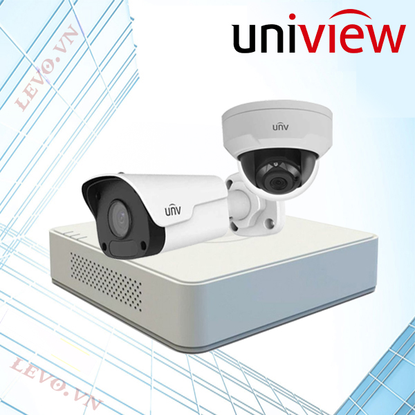 Trọn bộ 2 camera IP UNV Full HD (2.0 mpx)